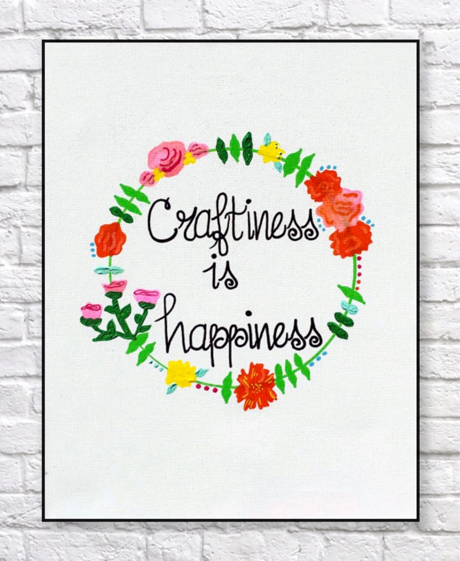 Craftiness is Happiness -...