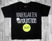 Kindergarten Graduation Personalized T shirts - Personalize Graduation Shirts for any grade-