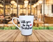 Will you be my Bridesmaid? Personalized Bridesmaid and Maid of Honor Gifts to Pop the Question after Engagement!
