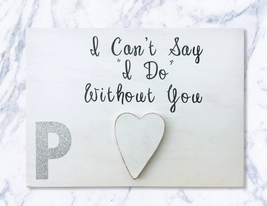 I cant say I do without Y...