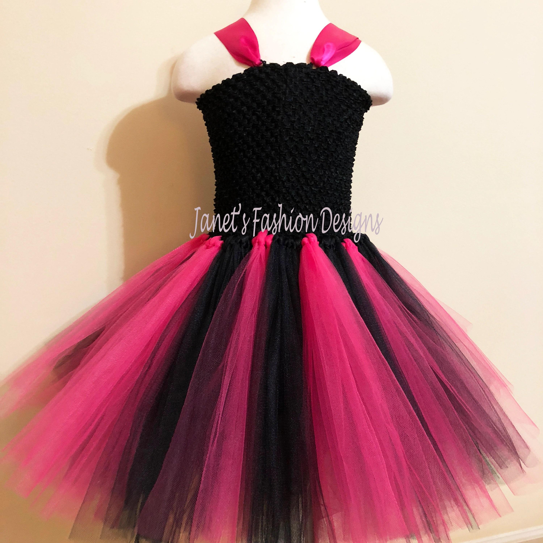 Monster High Inspired Tutu Dress Tutu Dress Fashion Tutu Etsy