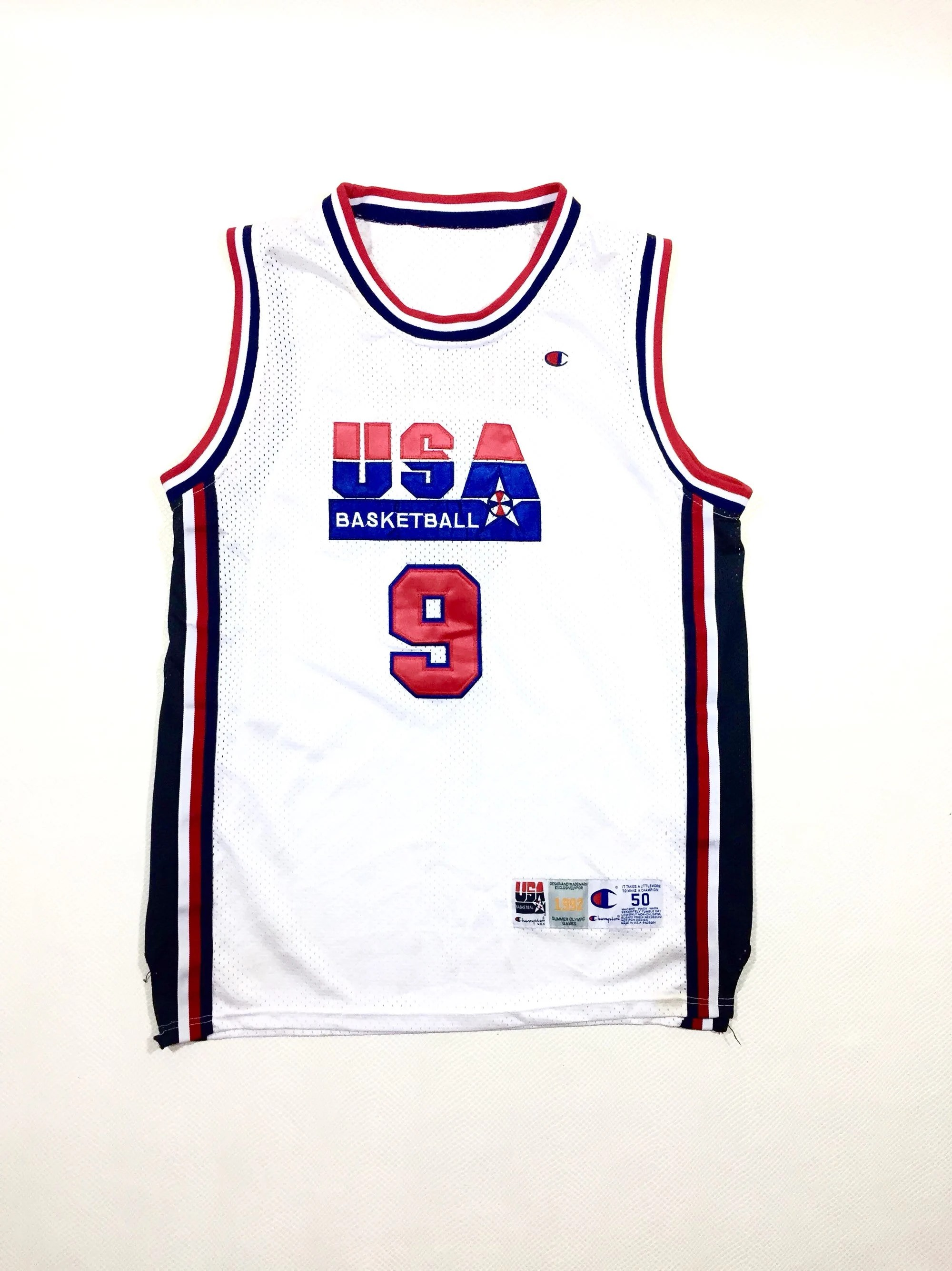 90s Vintage Usa Olympics Dream Team Michael Jordan 9