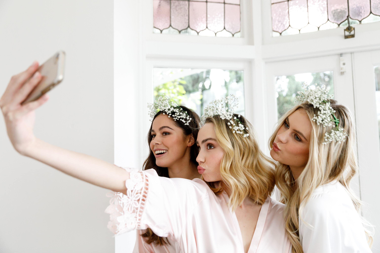 Lace Bridal Robe // Bridesmaid Robes // Robe // Bridal Robe // image 9