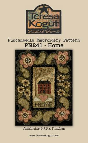 TERESA KOGUT Home Punch Needle Pattern House image 0