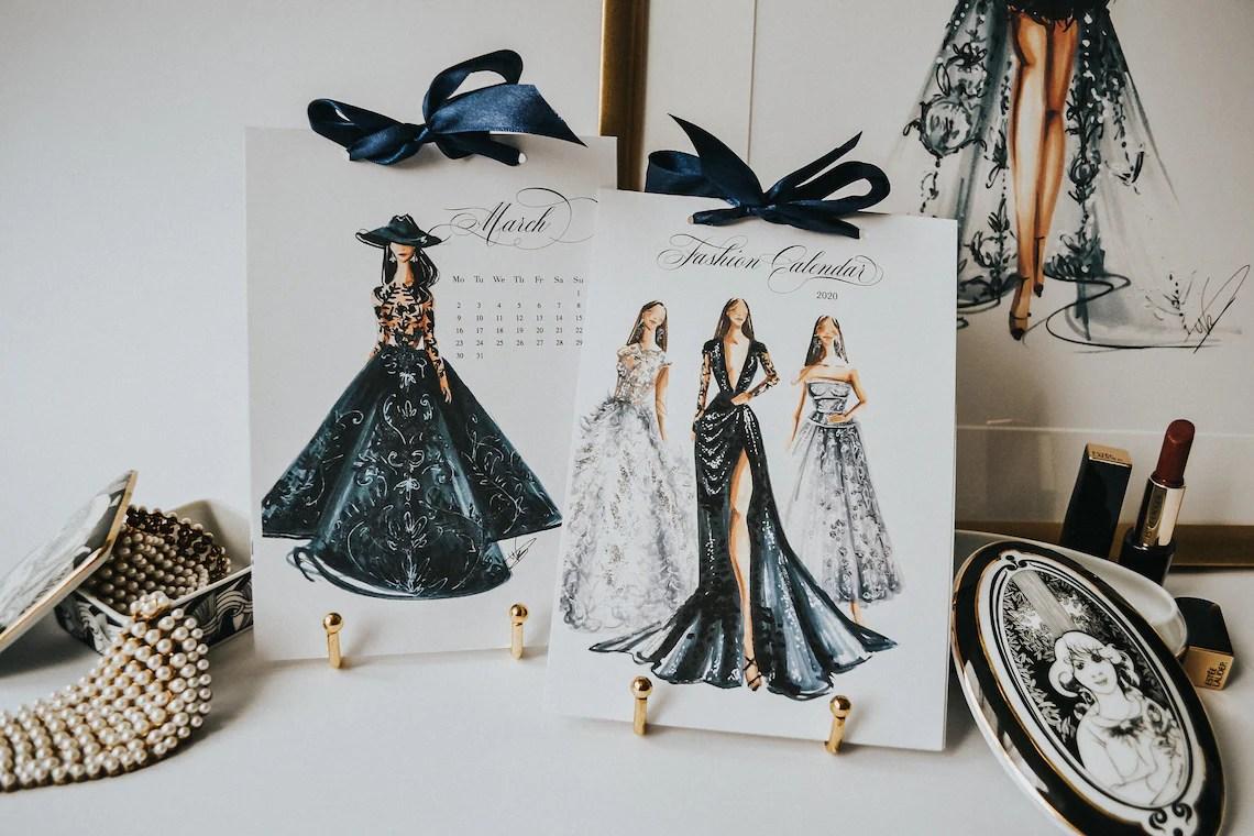 2021 Fashion Calendar Luxury Calendar 2021 Fashion image 0