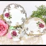 Paragon China Tea Trio Rose Tea Set English Bone China English Tea Cup Saucer Plate For Tea Time English Tea Party Wedding B396