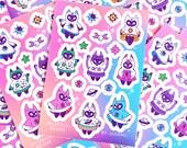 Celestial Beans - Sticker Sheet