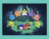 Paper Mario Print