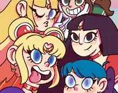 Sailor Selfie Print