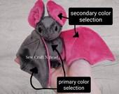 Regular Size Custom Color Bat Plush