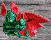 PRE-ORDER Watermelon Bat Plush Scented or No Scent
