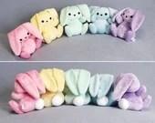 Custom Color Bunny Rabbit Plush (MADE TO ORDER)