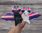 READY TO SHIP Pride Gender Fluid Flag Bat Plush