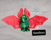 PRE-ORDER Seedless Watermelon Bat Plush Scented or No Scent