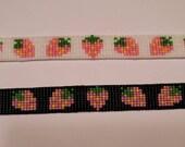 READY TO SHIP Pink Strawberry Bracelet