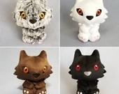 Custom Color Werewolf Plush Stuffed Animal (MADE TO ORDER)