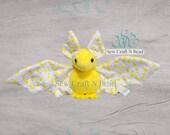 PRE-ORDER Lemon Bat Plush Scented or No Scent