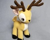 Reindeer Plush (READY TO SHIP)