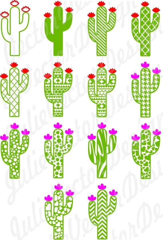 Download Cute Cactus Collection SVG Cutting Files Cactus svg Cactus ...