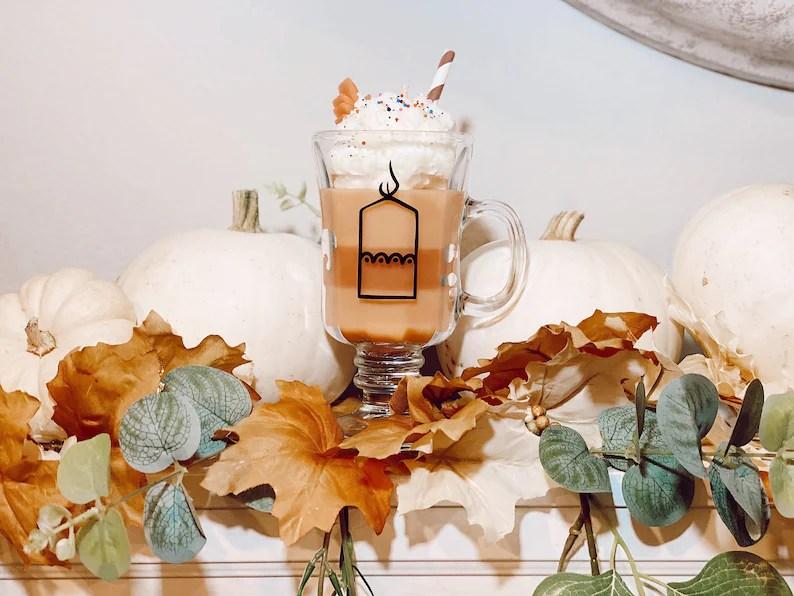 Pumpkin Sundae Soy Candle image 0