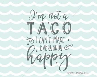 Download Taco svg | Etsy