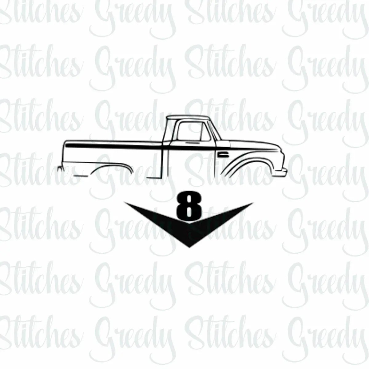 Ford F100 Svg Fcm Dxf Eps And Ford Svg F100