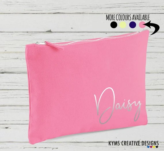 Personalised Makeup Cosmetic Bag