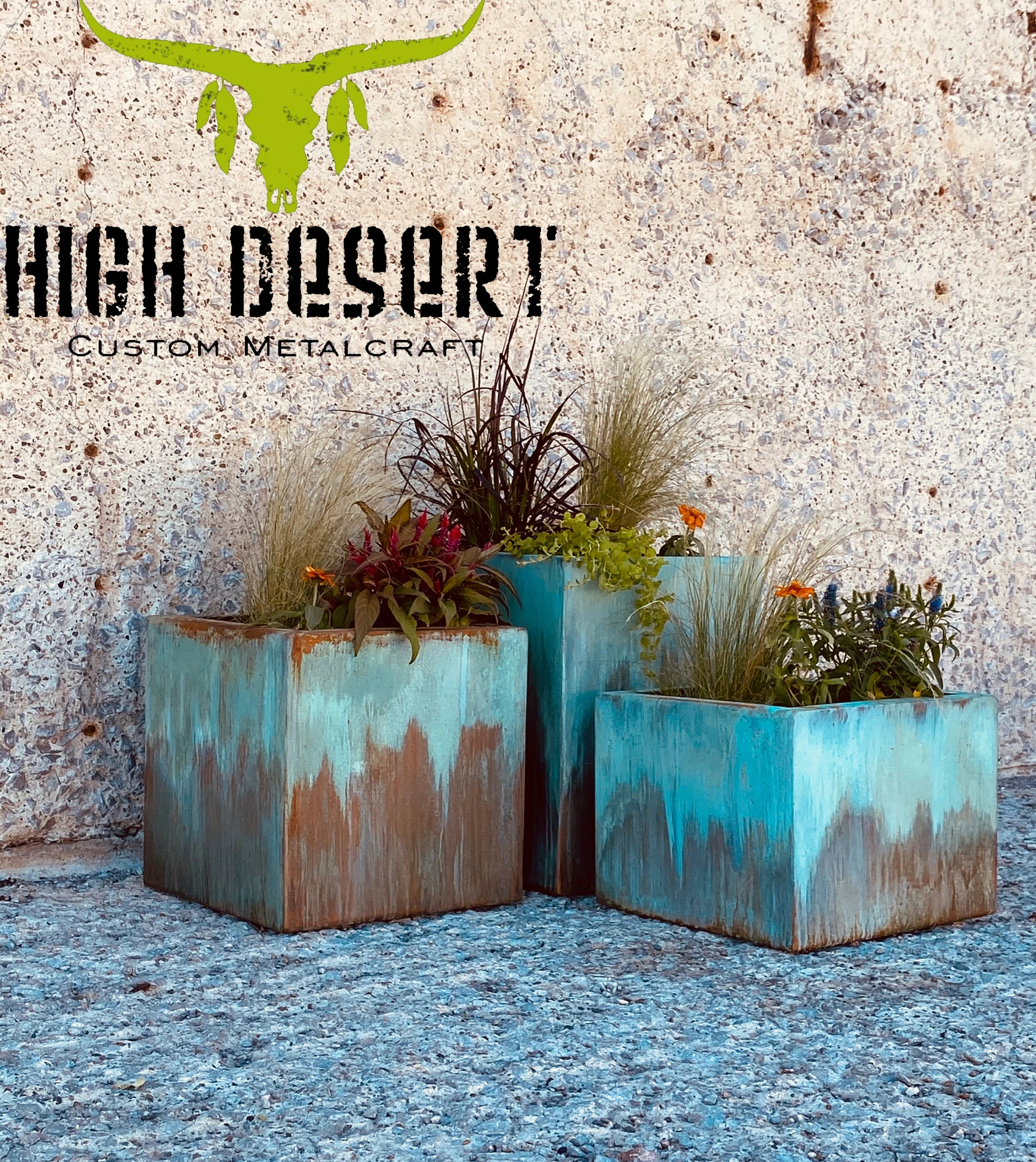 large outdoor planters etsy