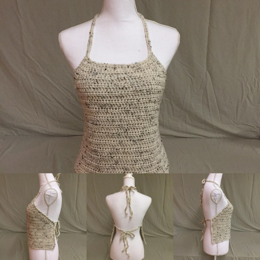 Crocheted Summer Halter T...