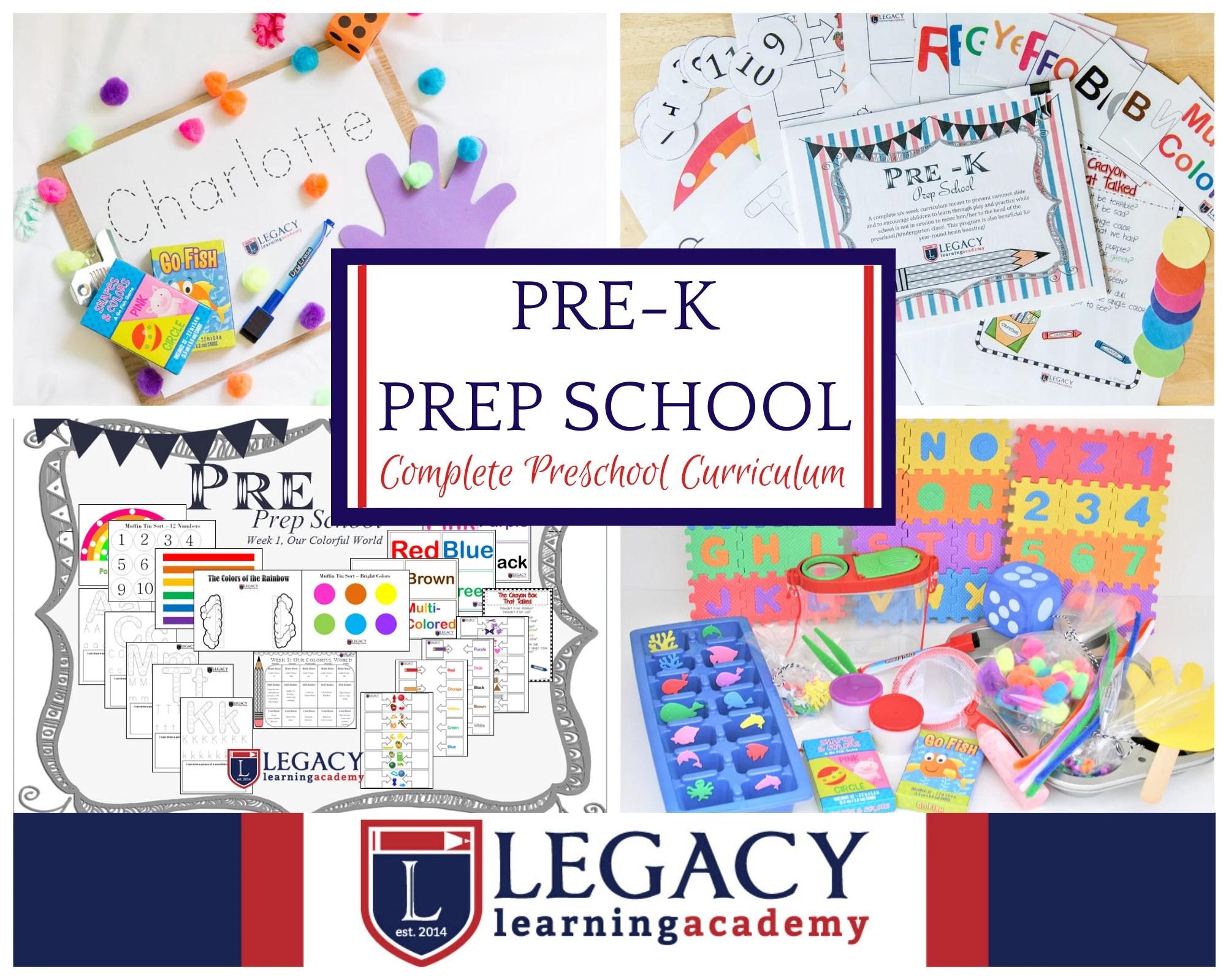 Preschool Curriculum For Homeschool Pre K Homeschool Kit