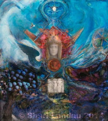 Art Print: Isis Altarcropped Goddess Art Healing | Etsy