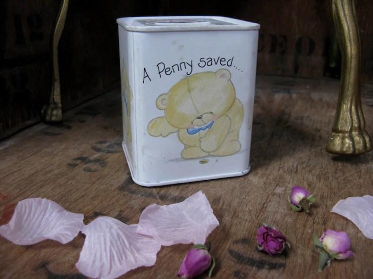 Forever Friends Tin Andrew Brownsword Teddy Bear Tin Tin ...