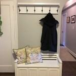 12 36 Inch Coat Rack With Shelf Entryway Organizer Rustic Wall Mounted Handmade Coat Rack