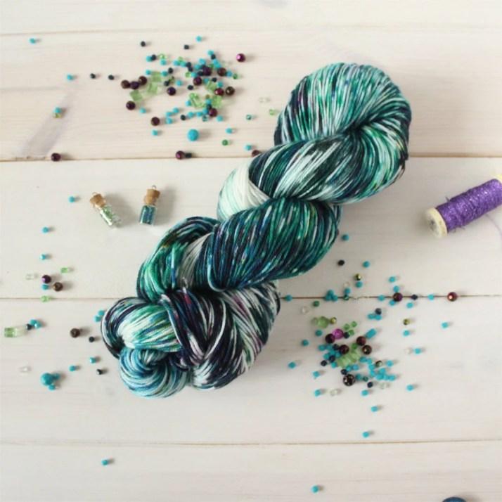 Indie dyed sock yarn - St...