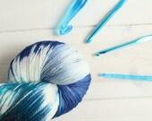Hand dyed yarn Chloe is B...