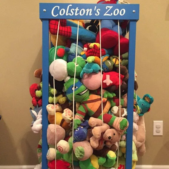 Personalized Stuffed Animal Zoo