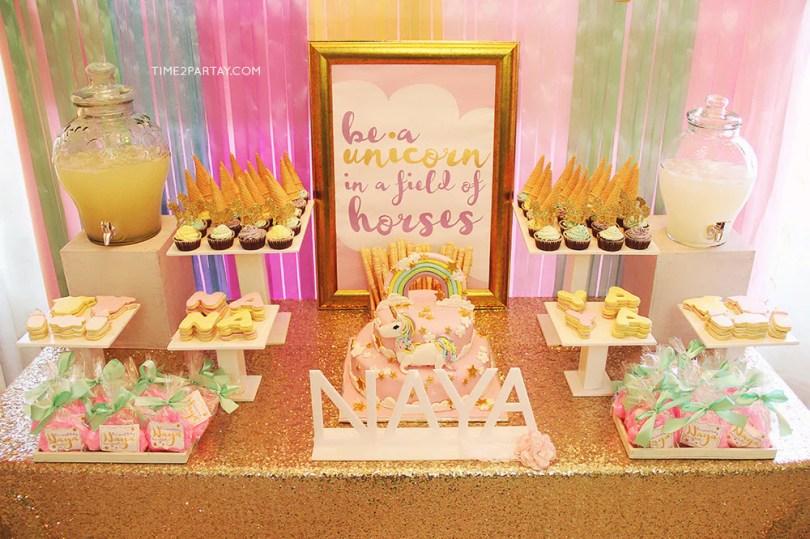 unicorn baby shower theme