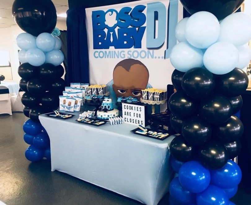 boss baby shower