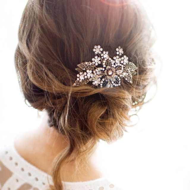 wedding hair accessories & jewelry boho vintage by