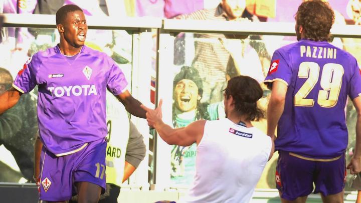 Papa Waigo e Osvaldo, eroi della rimonta in Juventus-Fiorentina (2007-2008)   numerosette.eu