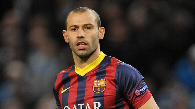 Image result for Mascherano signs new Barca deal