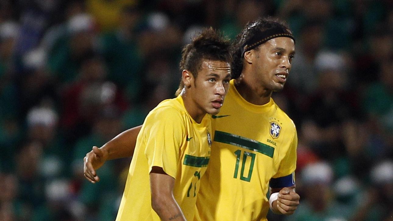 Ronaldinho: Neymar is my heir, the idol of all Brazil