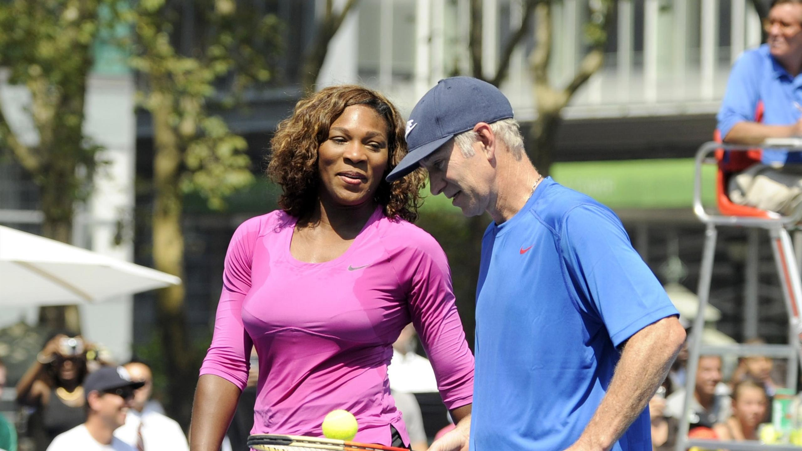 Image result for serena williams john mcenroe