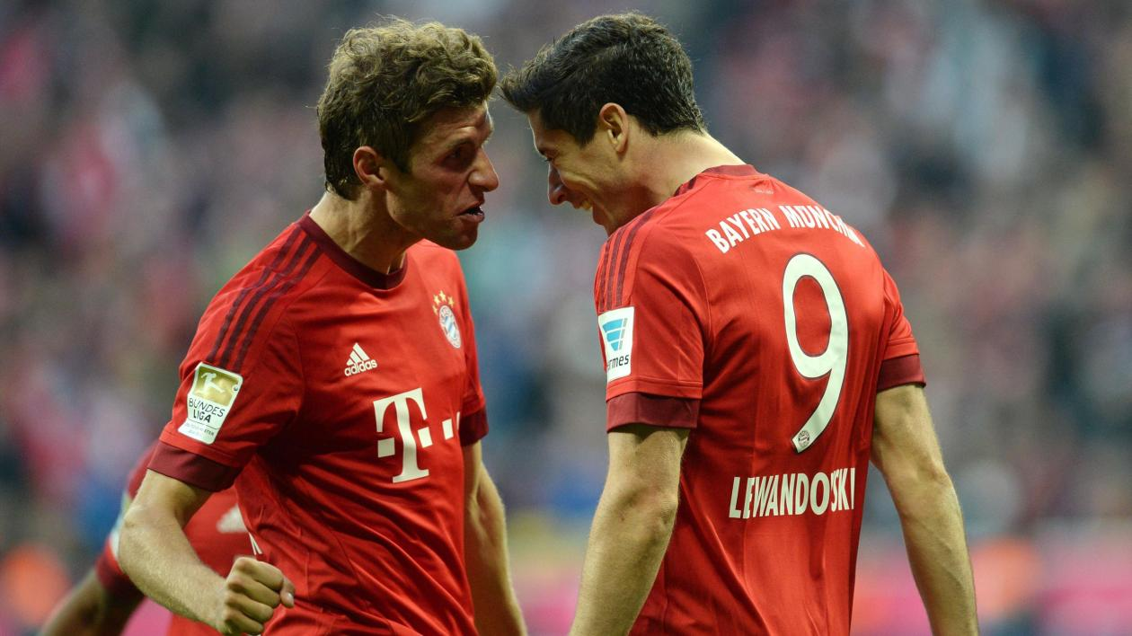 Image result for thomas müller 2016 bayern