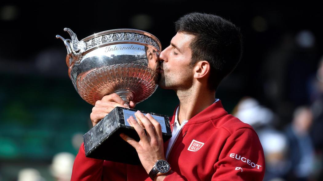 Source: Djokovic Winning The French Open 2016.