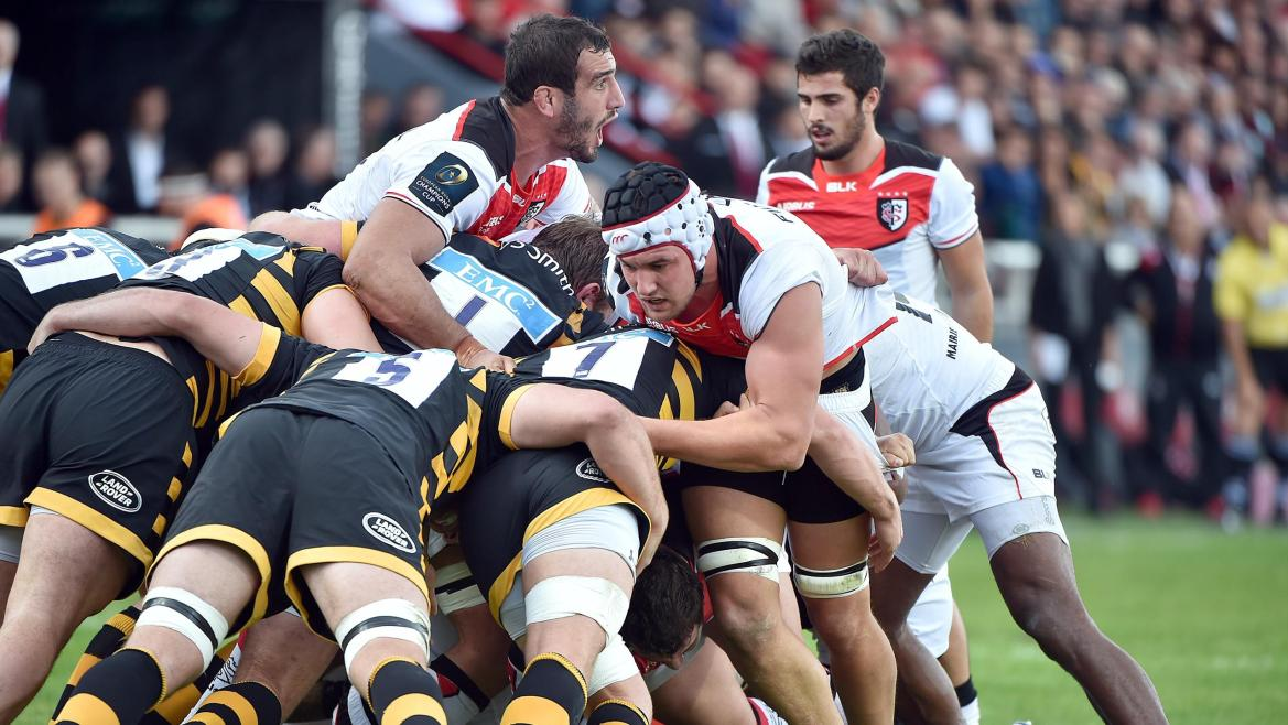 Toulouse - Wasps, 23 octobre 2016