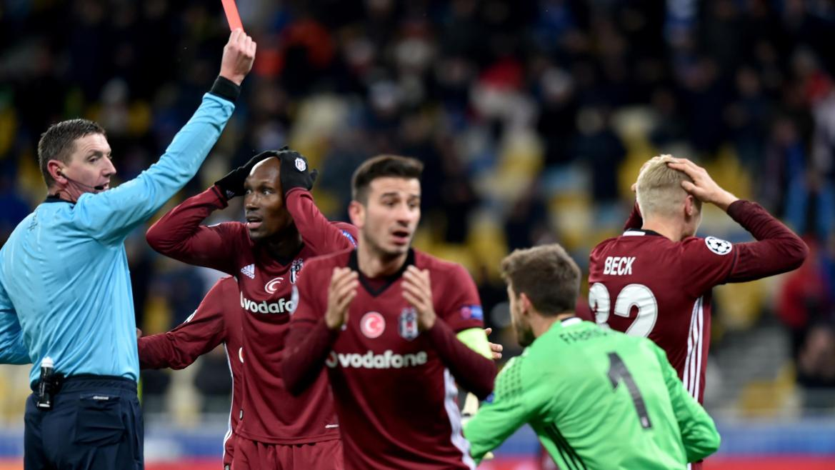 Dinamo Kiev - Beşiktaş (Craig Thomson)