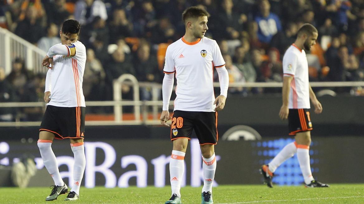Enzo Perez et Medran (Valence) face au Celta Vigo