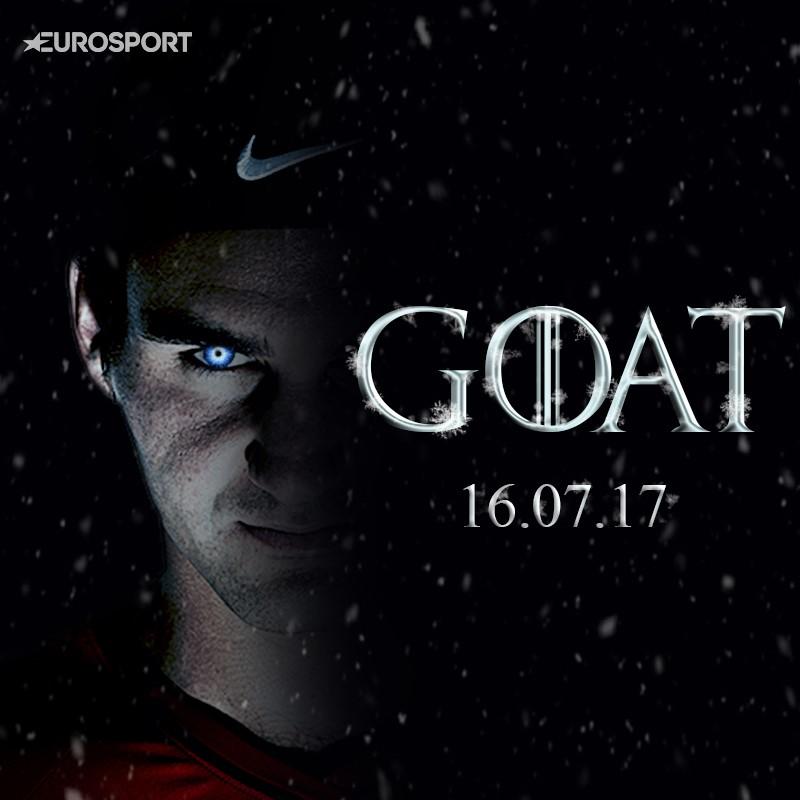 Image result for roger federer is the goat
