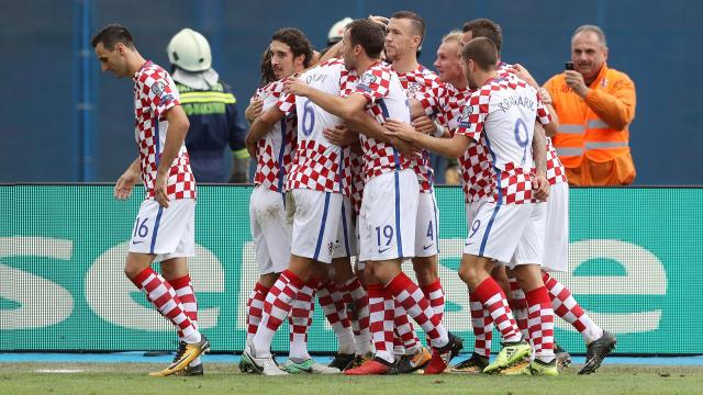 Image result for CROATIA football 2018